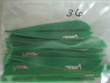 Vanetec 4 inch V-Max Green Vanes 36 pk. 40-10