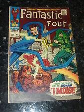 FANTASTIC FOUR Comic - No 65 - Date 08/1967 - Marvel Comic