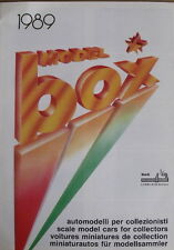 Catalogo BOX MODEL cars Ferrari 1989 - ITA - Tr.17