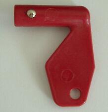 Set of (3) Volvo Red Battery Master Disconnect Isolator Keys