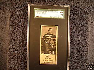 1924 Willard's Chocolates Art Staff #48 SGC 40 P741