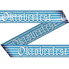 Oktoberfest Wies'n Spass warm up Absperrband 15 m außen Deko Dekoration Party