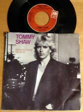 Tommy Shaw 45 Remo's Theme (What If) / Kiss Me Hello  w/PS