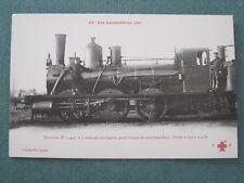 CPA , train , 56 , locomotives (est) n°0.427 , pour trains de marchandises