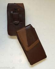 Étuis, housses et coques avec clip marrons pour téléphone mobile et assistant personnel (PDA) Samsung