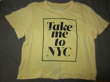 AMERICAN EAGLE OUTFITTERS AEO TAKE ME TO NYC KNIT TOP SHIRT TEE TSHIRT XLARGE XL