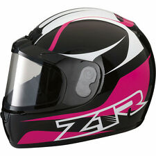 Z1R PHANTOM SNOWMOBILE SNOW HELMET FULL FACE ANTI-FOG SHIELD PINK MEDIUM M MED