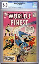 World's Finest Comics #103 - CGC Graded 6.0 (FN) 1959 - Silver Age