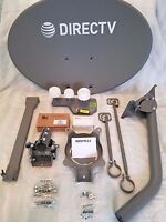 DIRECTV / COMPLETE AT&T HD DISH / 4K / REVERSE BAND DSWM 5 LNB / SWM /8 WAY NEW