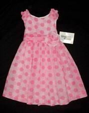 NWT $108 Luli & Me 2 2T Longer Dress Easter Church Wedding Boutique Pink Girl