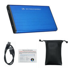 2TB USB 3.0 Portable External Hard Drive Ultra Slim One For Mac-Windows pw