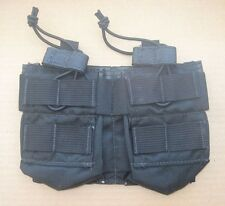 Eagle industries 5.56 double pocket 4 mag pouch molle black bungee pull rifle