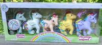 NIB My Little Pony 35th Anniversary Retro Rainbow Scented Ponies Set of 5