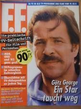 + FF DABEI 38 - 1992 Götz George Demi Moore Jack Nicholson Ohne Programmteil