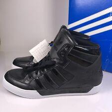 Adidas Hard Court Hi 2011 Negro Patente Talla UK 8 42