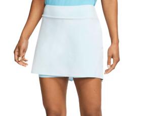 Nike Golf Skirt Womens Flex 15 Inch Mid Rise Inner Shorts Topaz Blue XL or 2XL