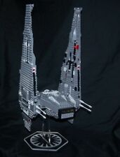 acrylic display stand for Lego Kylo Rens Command Shuttle Star Wars Force Awakens