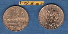 LOT de 2 pc 10 Francs Mathieu 1978 Tranche A + B SUP Liberté Egalité Fraternité