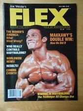 FLEX bodybuilding muscle ISSUE #2 magazine/MOHAMED MAKKAWY 5-83