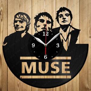 Vinyl Clock Muse Vinyl Record Clock Handmade Original Gift 6545