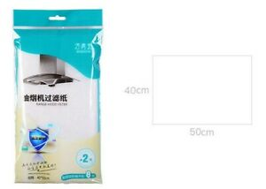 One Pack Universal Rangehood Range Hood Grease Filter 40cm x 50cm 2 Filters