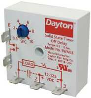 DAYTON 5WML8 Encapsulated Timer Relay,1A,Solid State