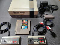 Ultra Super Rare Hyundai Comboy Nintendo Korean Version NES Game Console Set FC