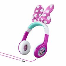 Minnie Mouse Bow-tastic Headphones , New, Free Shipping