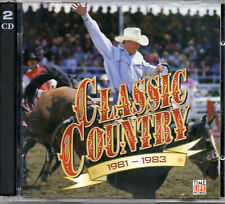 CD Classic Country 1981-1983 Time-Life compilation 2CD's 28 tracks