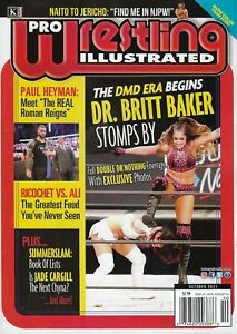 PRO Wrestling Illustrated  DR. Britt Baker  October 2021