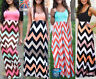 Womens Celeb Sexy Boho Long Maxi Dress Ladies Summer Beach Party Sun Dress WD024