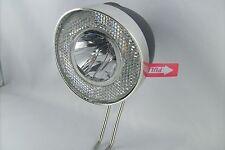 Batterie LED Fahrrad Lampe 20 Lux UNION 4915 schwarz Standlicht Retro Licht