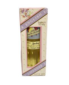 Vintage English Lavender Cologne Spray 3.3 FL Oz. By Yardley Of London NOS