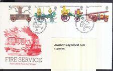 Großbritannien 1974 FDC MiNr. 646-649  200 Jahre britisches Feuerschutzgesetz