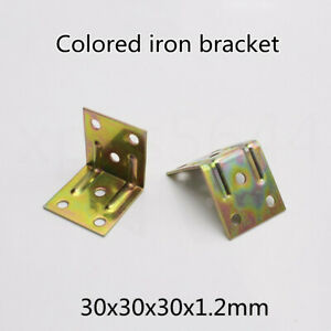 Color iron bracket right angle furniture cabinet cabinet hardware accessories