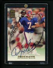 1999 Doug Flutie Topps Autograph Football card Buffalo Bills