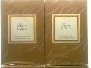 Avon Rare Gold 1.7oz  Women's Perfume NIB FRESH STOCK (2 PERFUMES)