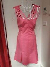 MOSCHINO NEW RRP $850 PINK DRESS SIZE 38
