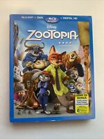Zootopia w/ Slipcover (Bluray/DVD, 2016) [BUY 2 GET 1]