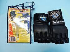 Progryp Pro Punch Leather Bag Gloves, Black, Medium
