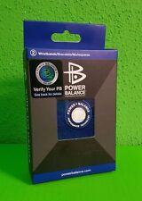 Power Balance Terry Cloth Blau Energy Sport Frotte-Armband - NEU - BLAU-1 Paar-