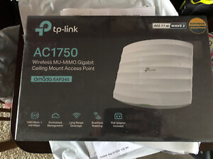 TP-Link Omada EAP245 V3 AC1750 MU-MIMO Gigabit Ceiling Mount Access Point