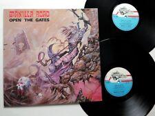 MANILLA ROAD - Open the Gates 2-LP 1985 ORIG. Black Dragon