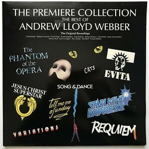 The Premiere Collection The Best Of Andrew Lloyd Webber  Vinyl LP  Used Gatefold