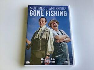 Mortimer & Whitehouse: Gone Fishing - Series 2 (DVD 2019, Season Two, Second)