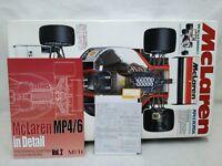 Tamiya 1/12 McLaren Honda MP4/6 SENNA F1 With MFH Book & ST27 Decals