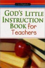 God's Little Instruction Book: God's Little Instruction Book for Teachers (Paper