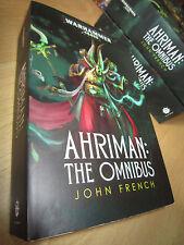 John French AHRIMAN: THE OMNIBUS 1st/Pb MINT Warhammer 40K Thousand Sons