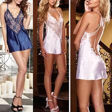 Sexy Women's Lace Lingerie Dress Nightwear Underwear Babydoll Sleepwear Chemise