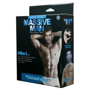 Massive Man - Mike L - Male Inflatable Love Doll